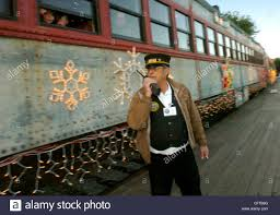 sunol train of lights train conductor al mccracken makes certain everything is ready for