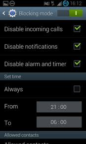 block calls on android android silent time block calls and notifications