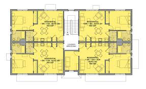 apartment building floor plan plan 83117dc 3 story 12 unit apartment building house plans3 plans
