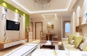 beautiful interior design for living room and dining room with