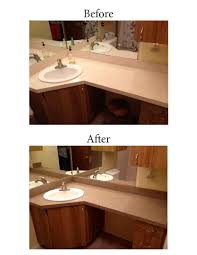 countertop refinishing chesapeake vanity resurfacing virginia