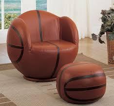 gorgeous swivel chair with ottoman football basketball baseball