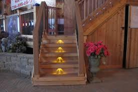 solar led deck step lights deck step lighting decks fencing contractor talk throughout deck