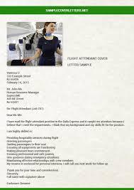Resume Samples For Flight Attendant Position by Flight Attendant Cover Letter Sample Sample Cover Letters