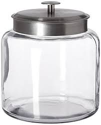 glass kitchen canisters amazon com