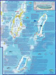 Hungry Shark Map Dive Belize Map And Info On Dive And Snorkeling Sites Off