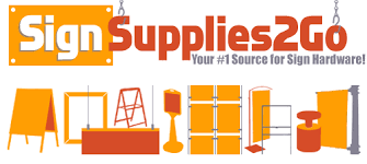 wholesale sign supplies sign hardware and standoffs
