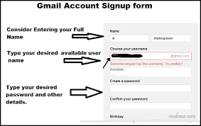 Gmail Sign Up Three Simple Steps To Create Gmail Account Mabooz