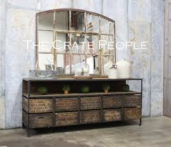 credenza table 10 vintage zoria crate credenza tv console buffet table