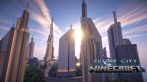 Minecraft City Maps Future City 2 0 Map 1 7 2 1 8 1 7 10 Minecraftdata Com