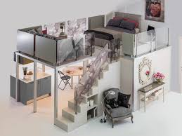 unique loft bunk beds with stairs ideal loft bunk beds with
