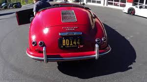porsche speedster for sale 1954 porsche 356 speedster for sale youtube