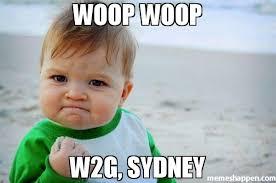 Sydney Meme - woop woop w2g sydney meme success kid original 40749 page 4