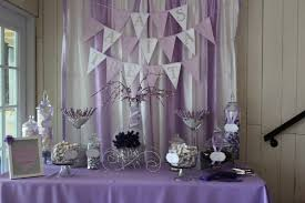 purple baby shower decorations 35 purple and white wedding candy buffet ideas table decorating