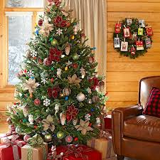 trim the tree you brought home with multicolor