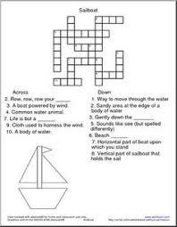 crossword puzzle free printable activities 001 printables