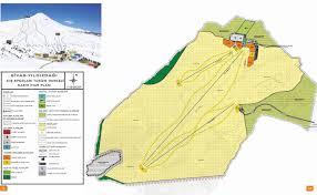 Kayak Map Trail Map Sivas Yıldız Dağı Kayak Merkezi