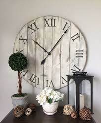 Unique Large Wall Clocks 25 Best Oversized Wall Clocks Ideas On Pinterest Rustic Wall