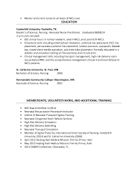 Nurse Practitioner Resume Example by Nicu Nurse Resume Sample 2 Example Of Nurse Resume Emergency