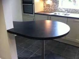 Breakfast Bar Bespoke Laminate Worktop Countertop Breakfast Bar Made And Edged