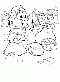 veggie tales easter coloring pages coloring home