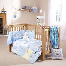 Cot Bedding Set Ahoy Cot Cot Bed Quilt Bumper Bedding Set