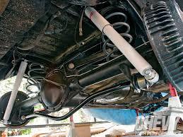 chevy el camino rear bushings shocks springs u0026 sway bar upgrade