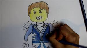 kolorowanka jay lego ninjago coloring pages for kids jay lego