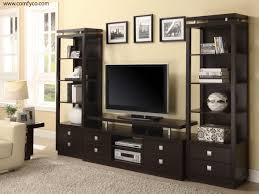 modern tv stand with mount and storage wall unit ikea decofurnish
