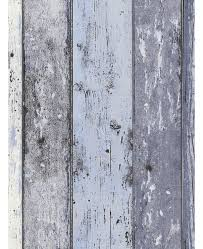 distressed wood panel wallpaper blue as creation 8550 60 feature