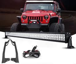 jeep light bar mount jeep jk pack 07 2017 52