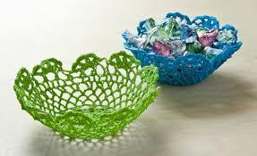 make a doily bowl the easy way diycandy com