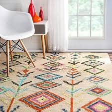 4x6 Kitchen Rugs Nuloom 4 X 6 Tufted Belini Area Rug In