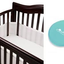 Vibrating Mattress Pad For Crib Breathablebaby Bumpers Airflowbaby 14 Mesh Crib Liner Gray