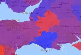 aussie map map shows killer aussie flu hotspots near bristol and across uk