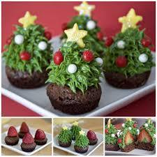 ideas diy pretty strawberry tree brownie