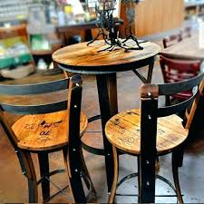 pub height table and chairs round bar table and chairs freem co