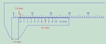 using the vernier calipers u0026 micrometer gauge department
