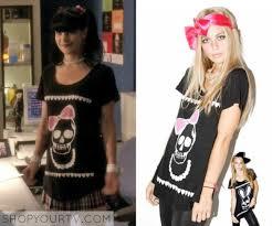Ncis Abby Halloween Costume Shop Tv Ncis Season 7 Episode 21 Abby U0027s Black Skull U0026 Bow
