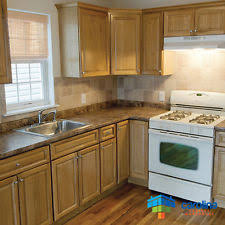 Oak Kitchen Cabinets EBay - Oak wood kitchen cabinets