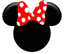 minnie mouse monogram minnie mouse ears clipart clipartxtras