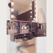 Hair And Makeup Organizer Best 25 Modern Makeup Vanity Ideas On Pinterest Dressing Tables