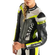 leather motorcycle coats spyke 4race div women motorcycle leather suits 4race rac