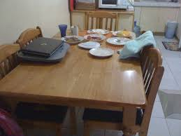 Used Dining Room Furniture Dining Table And Chairs For Sale Second Hand Chair Beige Leather