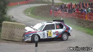 p1 crash markku alen crashes lancia delta s4 in rallylegend shakeown biser3a