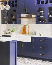 blue kitchen cabinets 21 amazing blue kitchen cabinet ideas in 2021 houszed