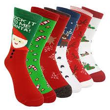 fuzzy christmas socks fuzzy socks for men women gifts by lulu