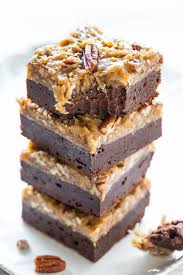 the best german chocolate brownies averie cooks