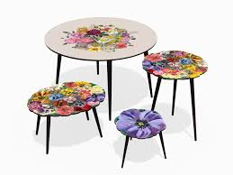 bouquet xl oval coffee table french bouquet collection by
