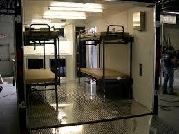 American Hauler  X  Motorcycle Trailer Double Bunk Beds - Double double bunk bed